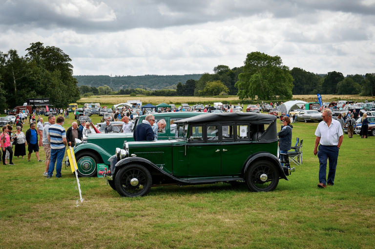 7th hampshire classic motor show breamore house 11th august 2019 17