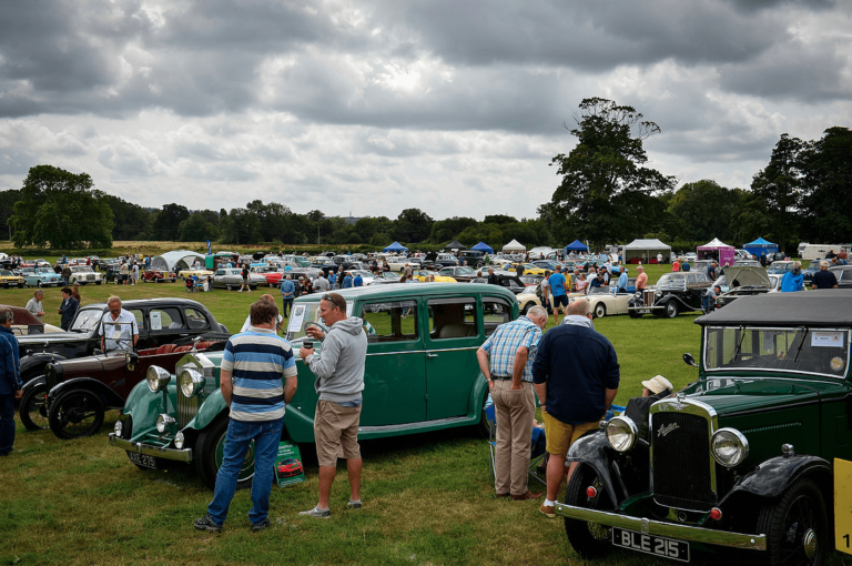 7th hampshire classic motor show breamore house 11th august 2019 18