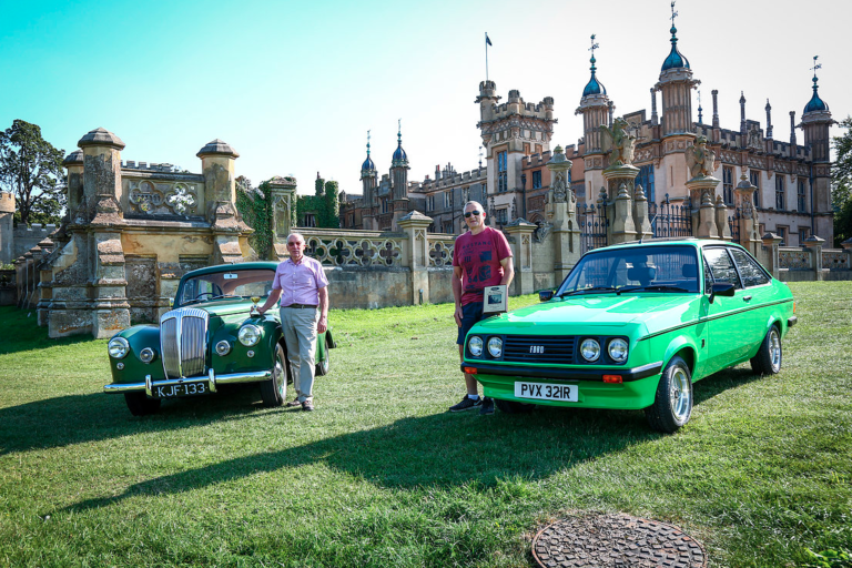 29th annual knebworth classic car show, knebworth park, 25th & 26th august 2019