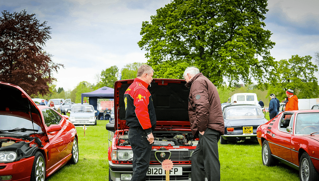 classic motor show & family fun day catton hall 5th may 2019 12