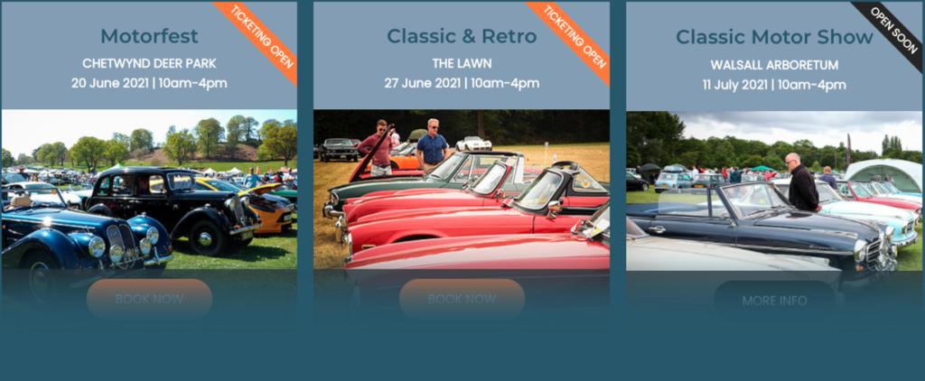 classic motor events 2021 calendar